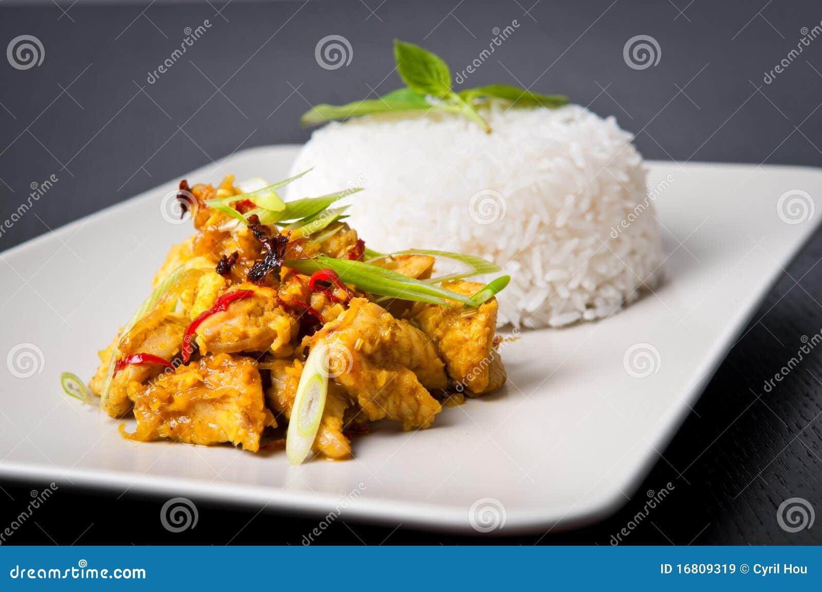 Lemongrass chicken dish