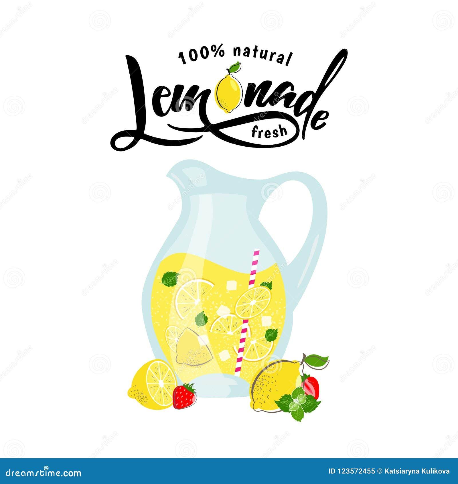 Lemoniady i lata owoc w miotaczu z cytryną