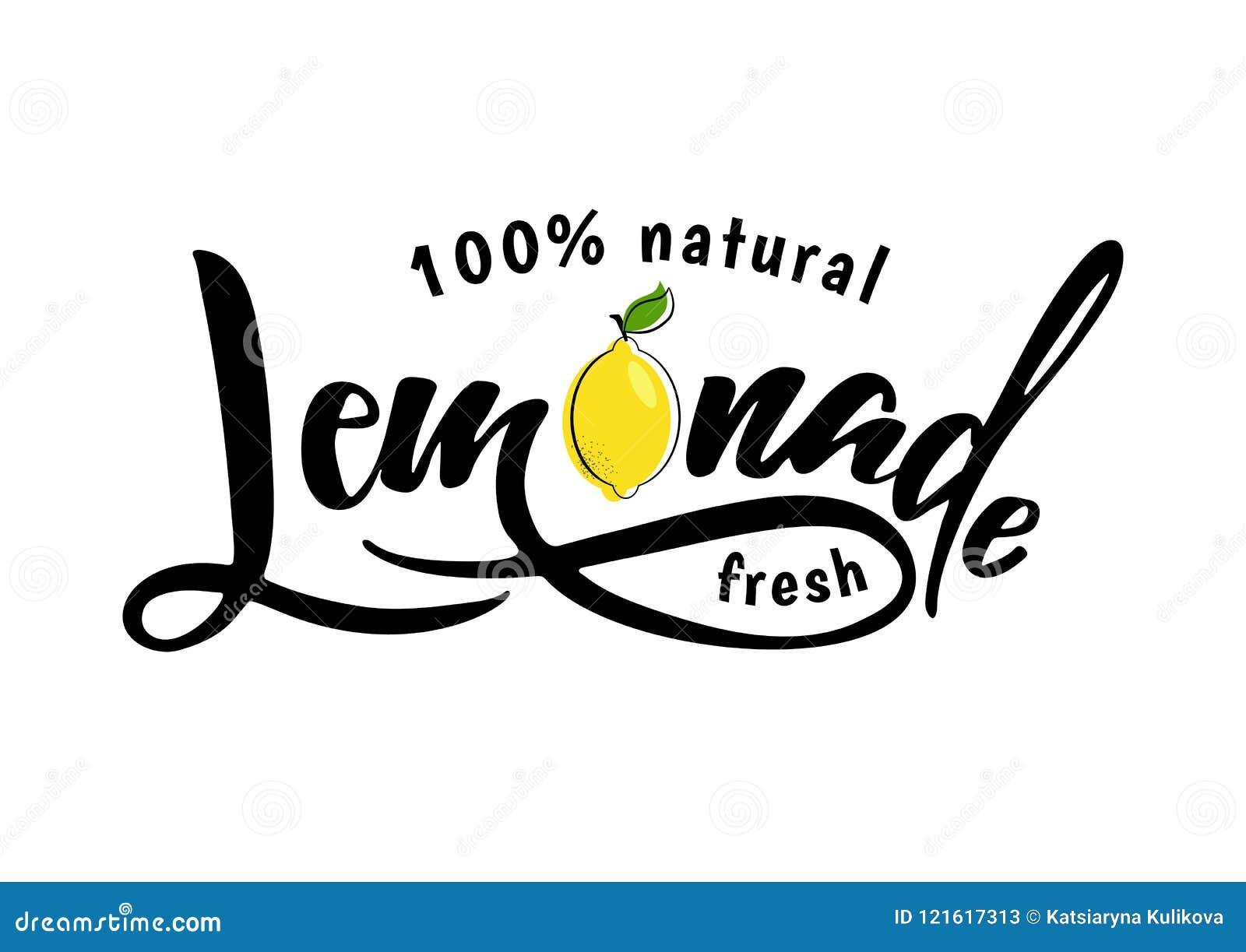 Lemoniady literowania znak