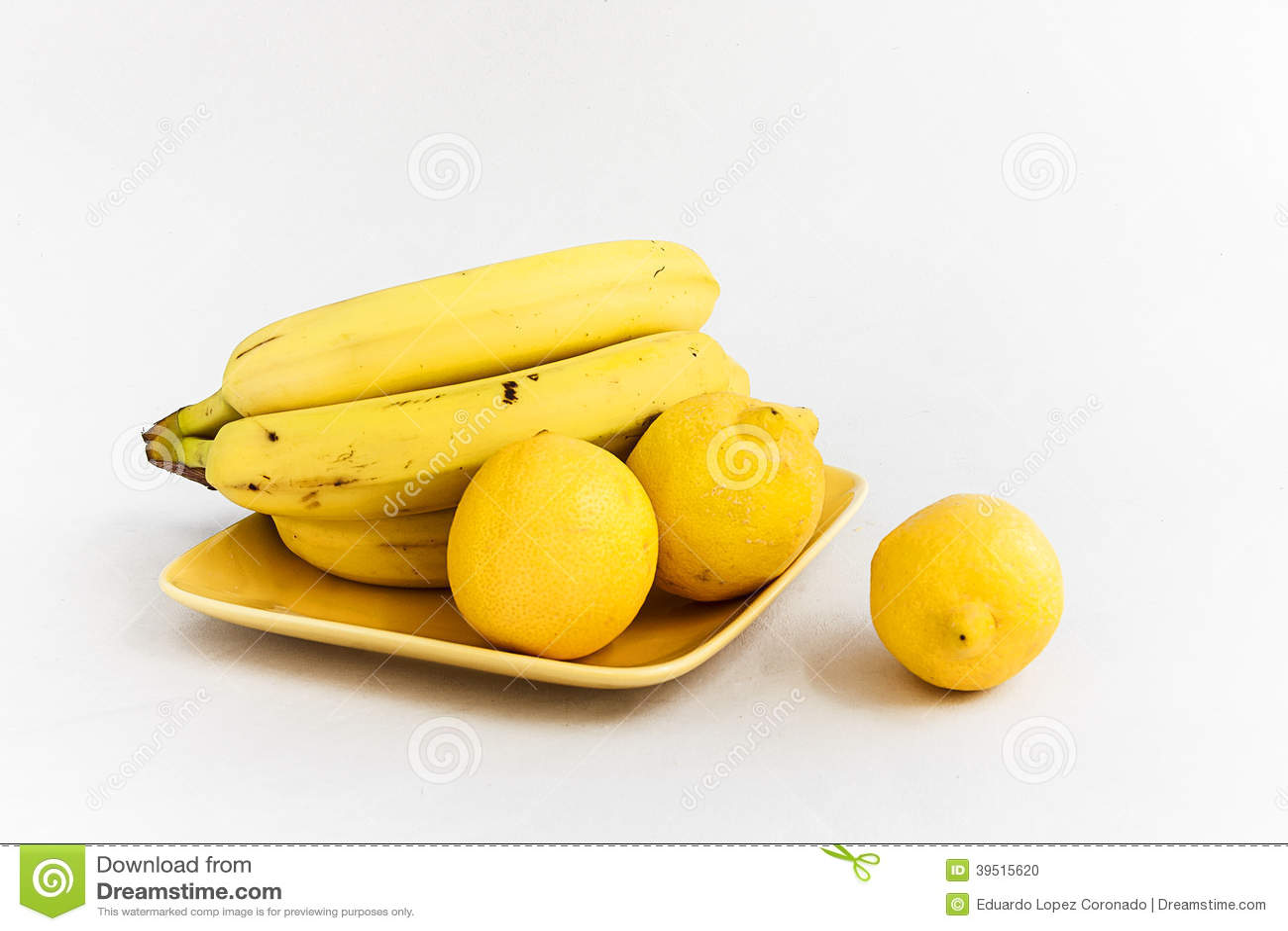 Lemons and bananas