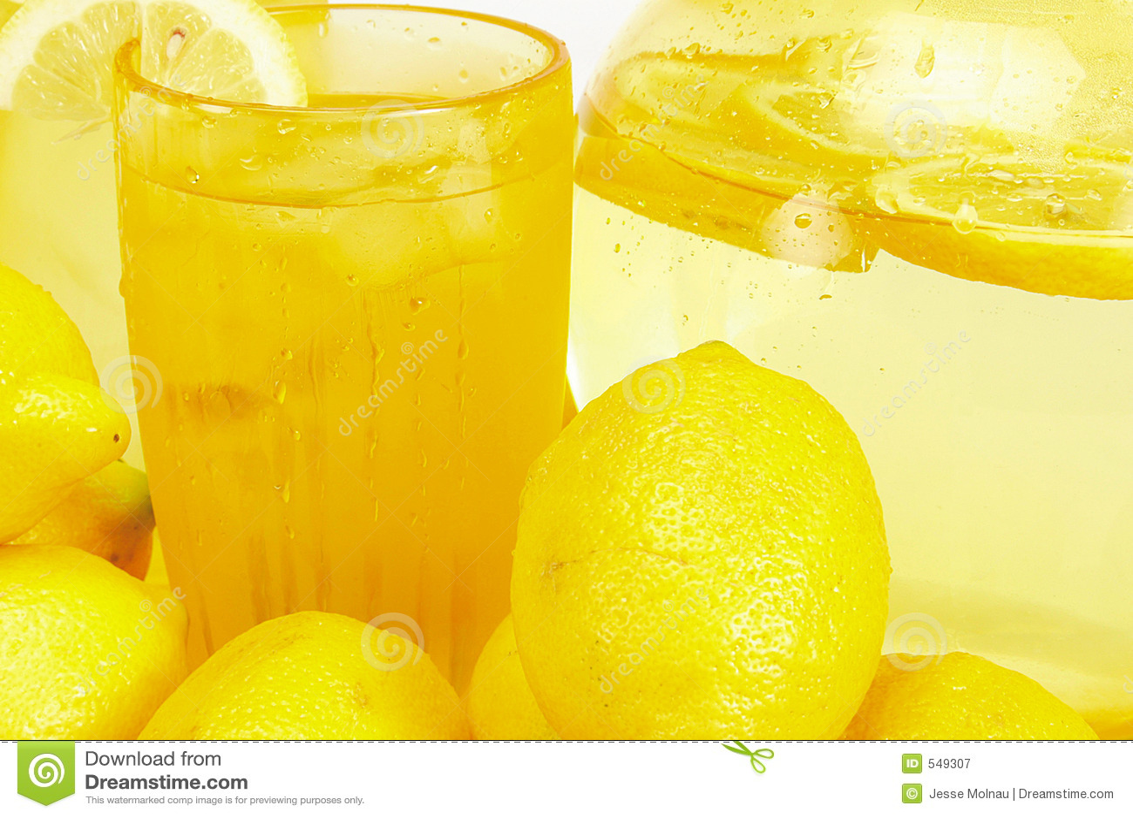 Lemons and Lemonade stock image. Image of yellow, food ...