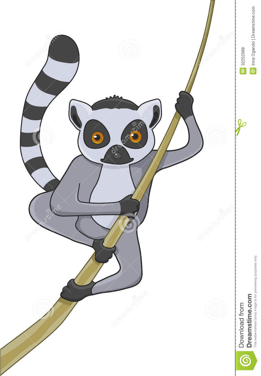 Lemur Cartoon Character Royalty Free Stock Photos - Image: 32252988