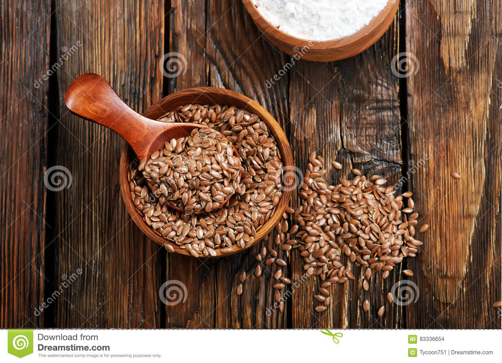 Len mąka i ziarno