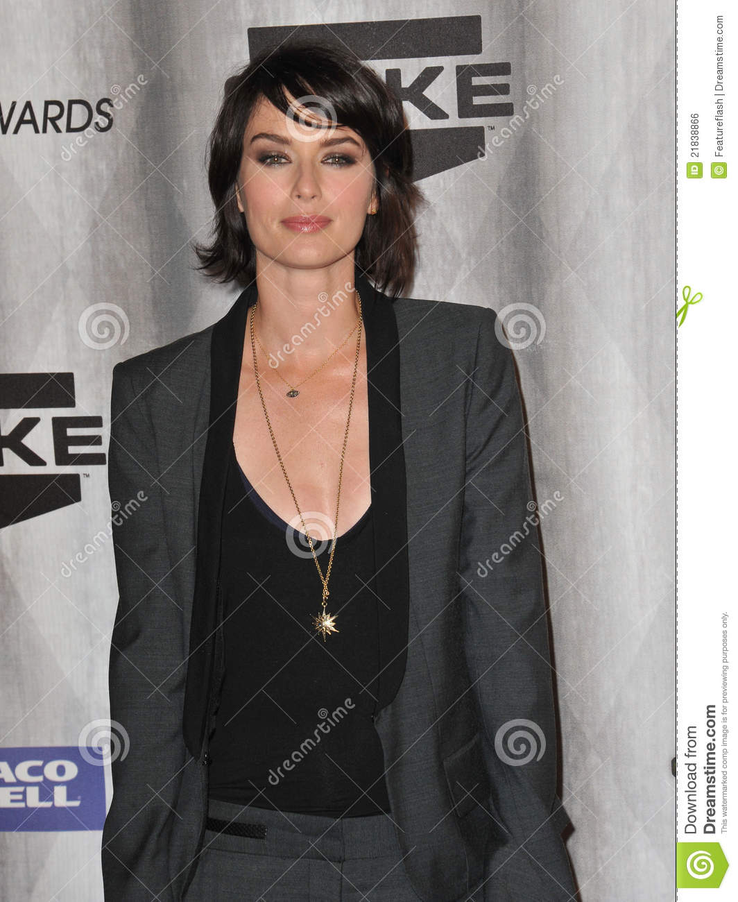 Game of Thrones star Lena Headey at the 2011 Spike TV Scream Awards at ...