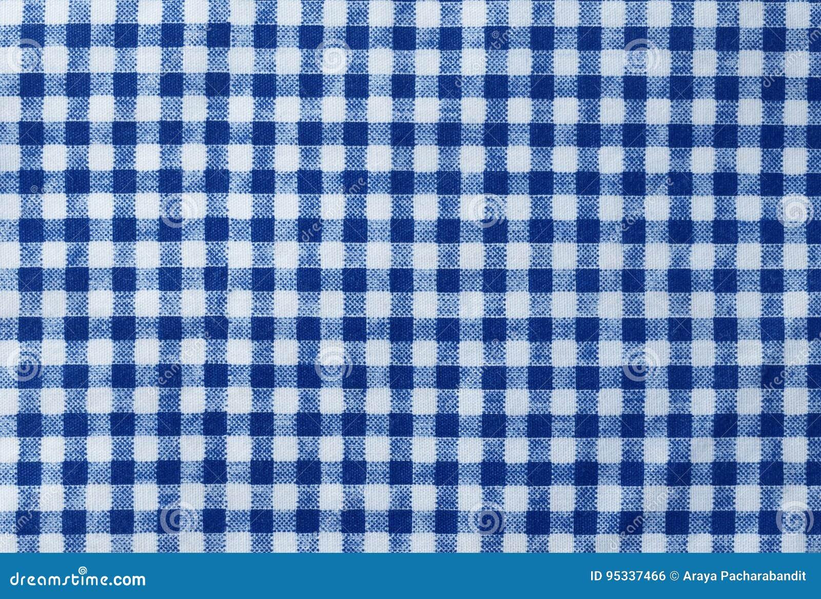 Lenhador azul e branco Plaid Seamless Pattern