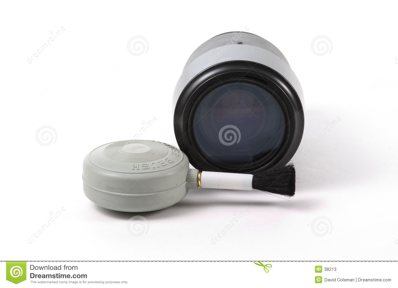 Lense and Blower Brush