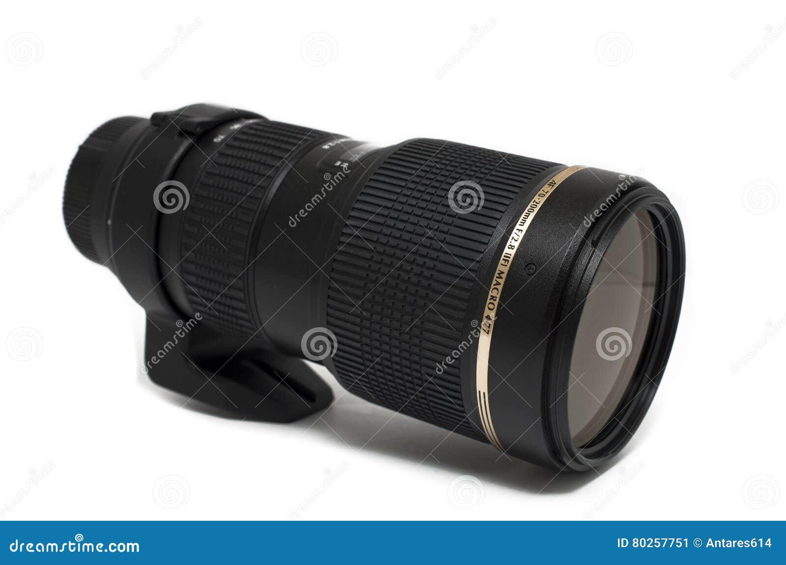 Lente de câmera