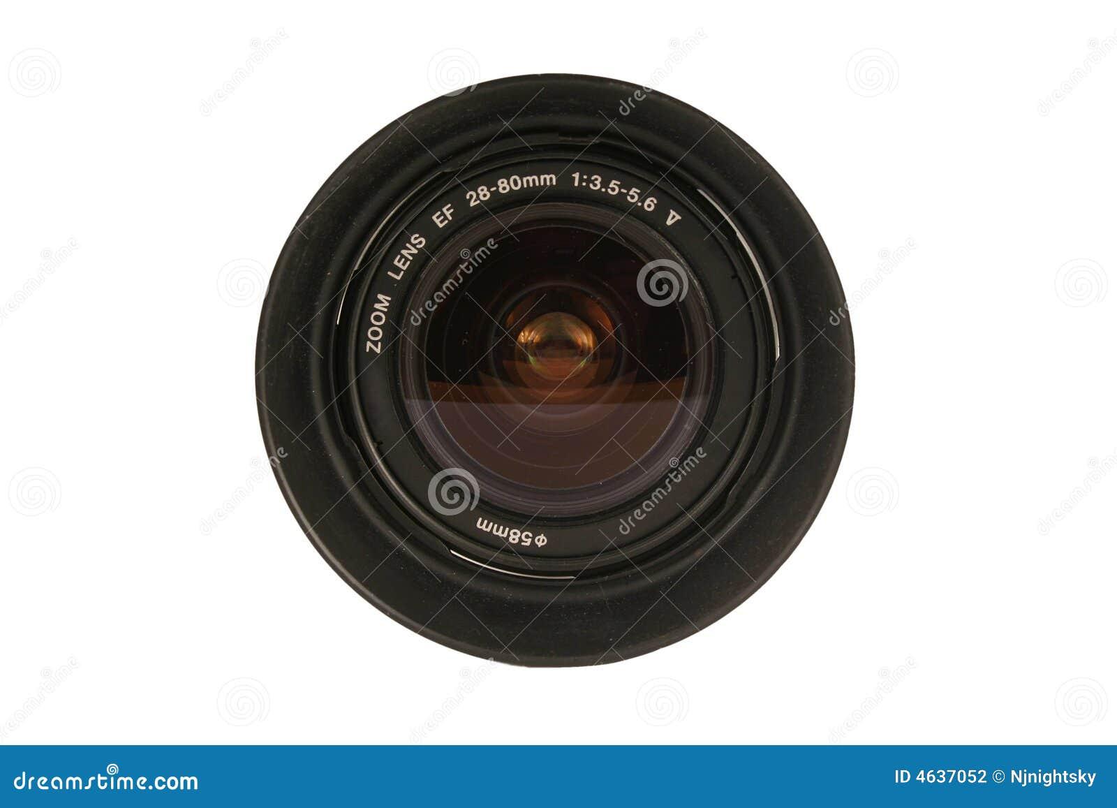 Lente de câmera de 28-80mm Dslr