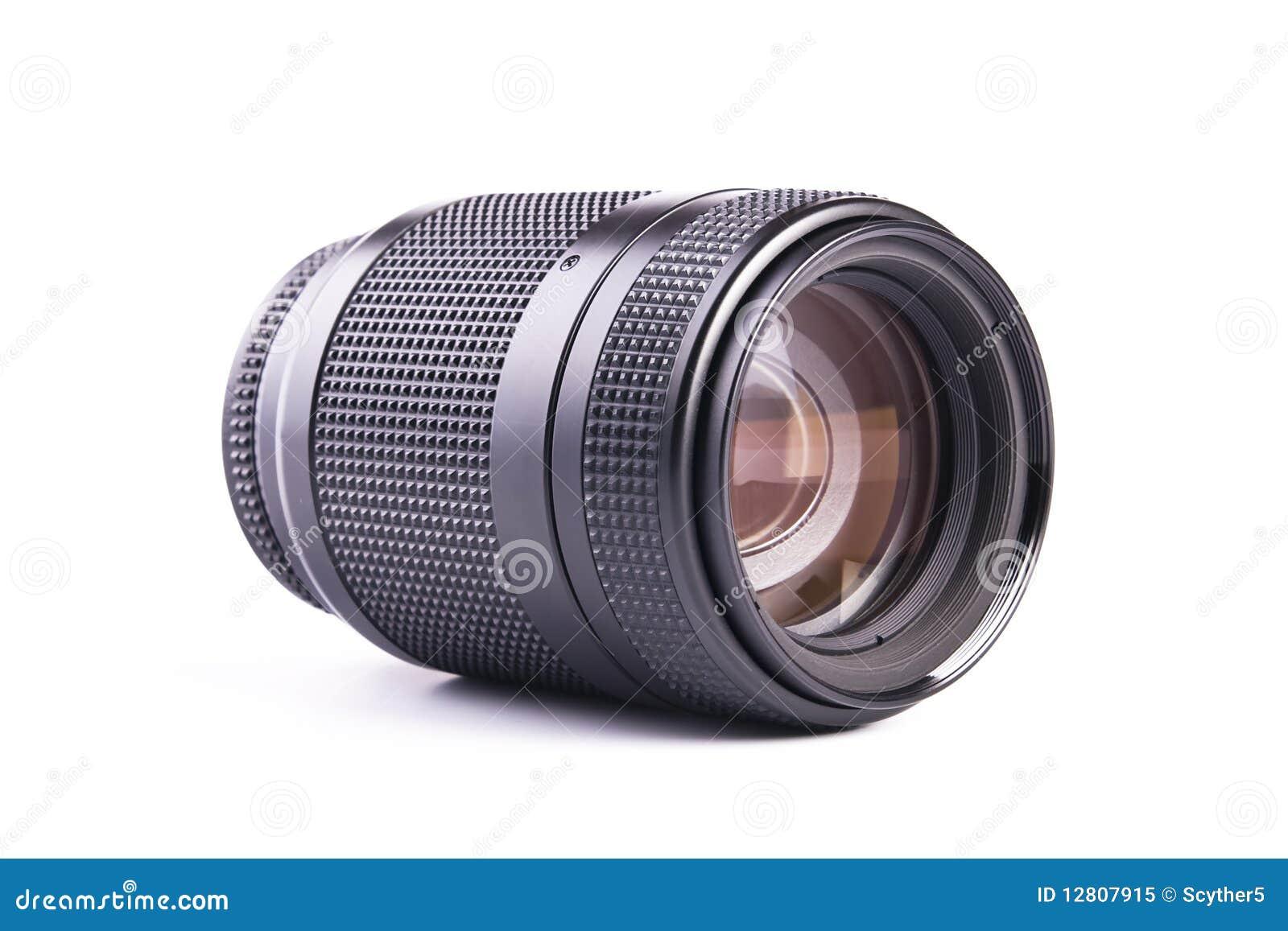 Lente de zoom da câmera