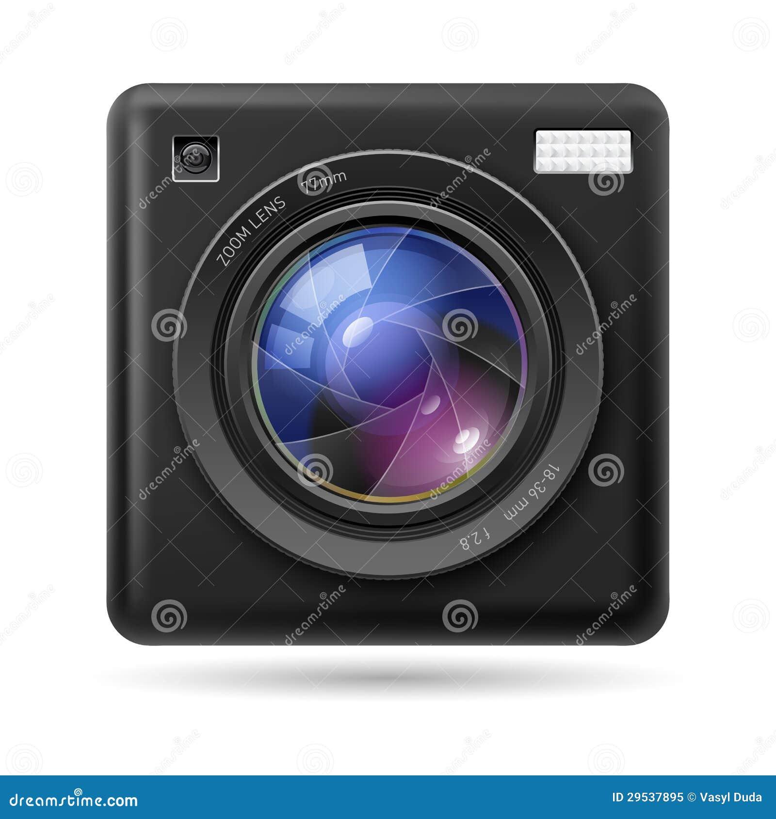 Lente do ícone da câmera