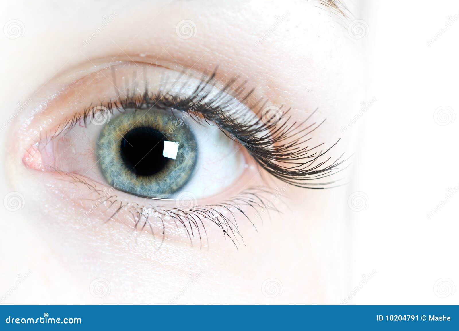 Lentes de contacto para los ojos