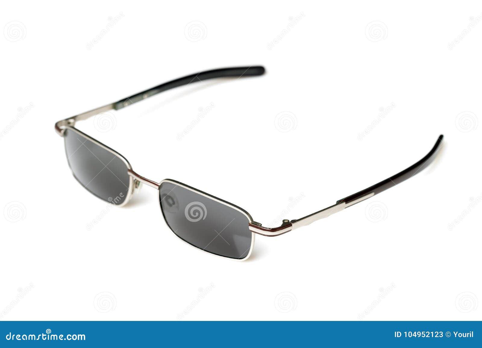 3e87db0278 Lentes grises de las gafas de sol del diseño del vintage y bordes del acero  inoxidable