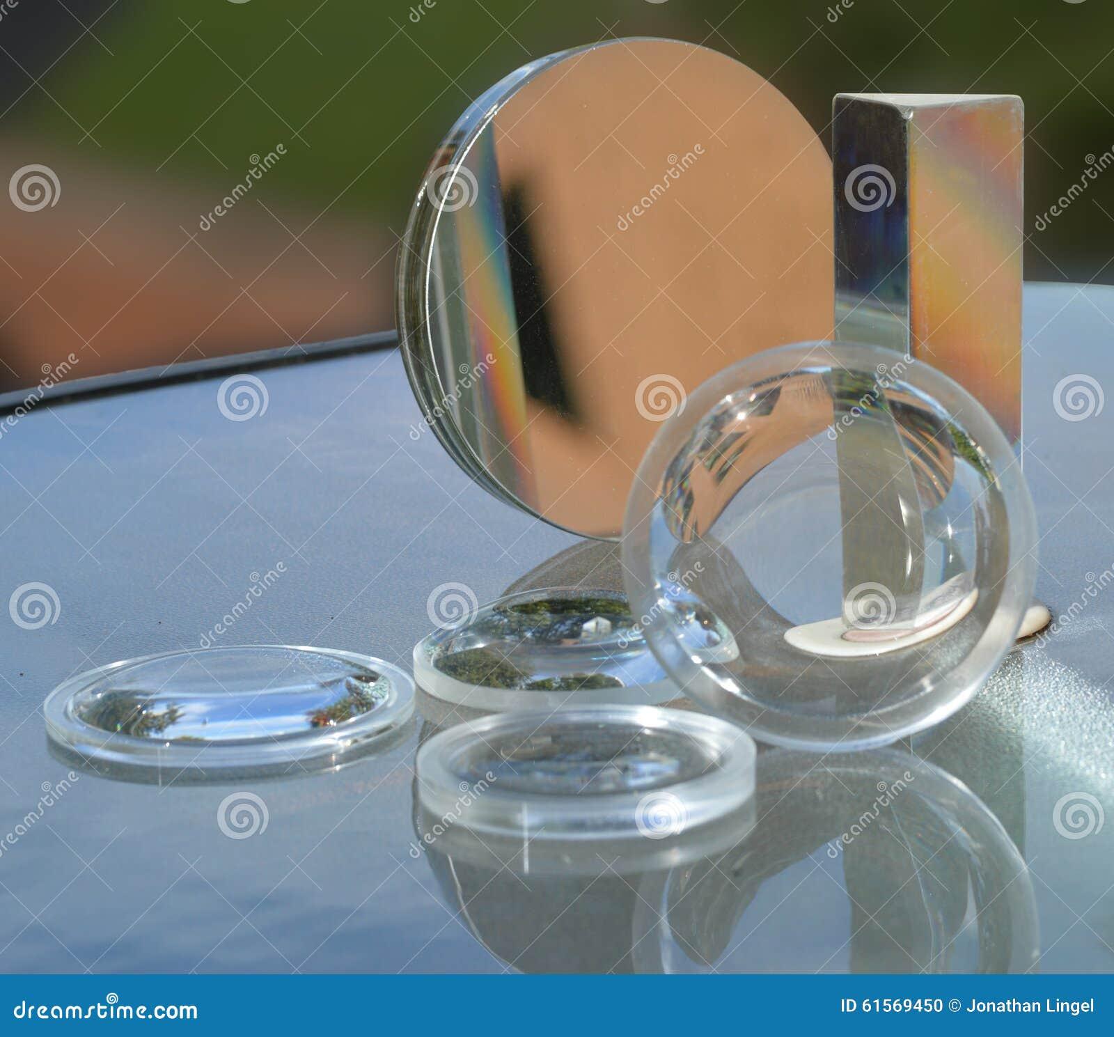Lenti specchi e prismi fotografia stock immagine di microscopio 61569450 - Specchi e lenti ...
