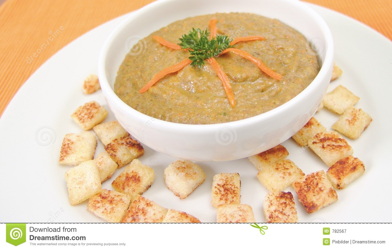 Lentil Cream Soup Royalty Free Stock Photography - Image: 782567