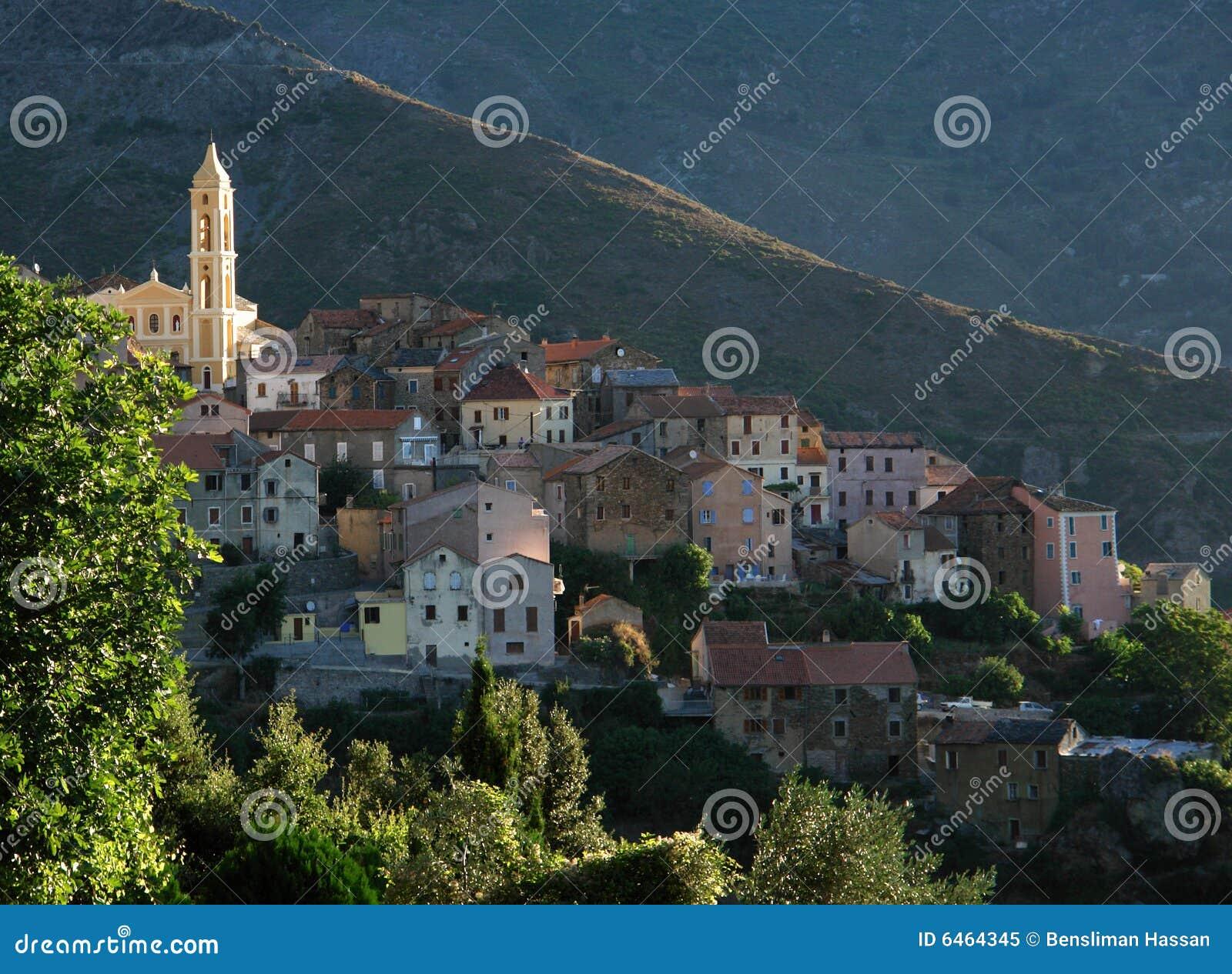 Lento kerk in Corsica eiland