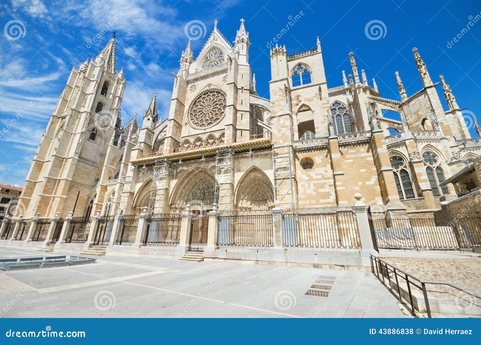 Leon Cathedral, Castille y Léon, Espagne