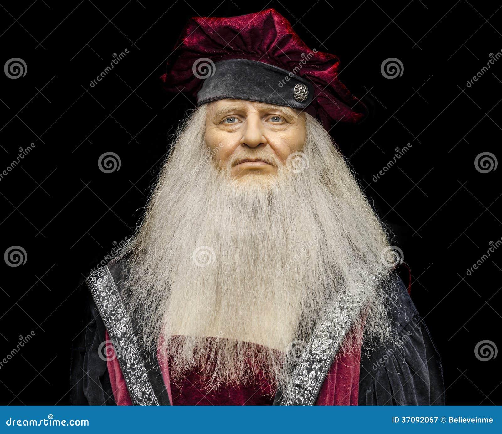 Download Leonardo Da Vinci fotografia editorial. Obraz złożonej z kreatywnie - 37092067
