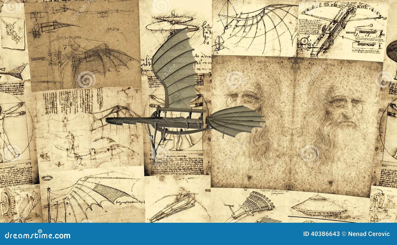 the scientific inventions of leonardo da vinci