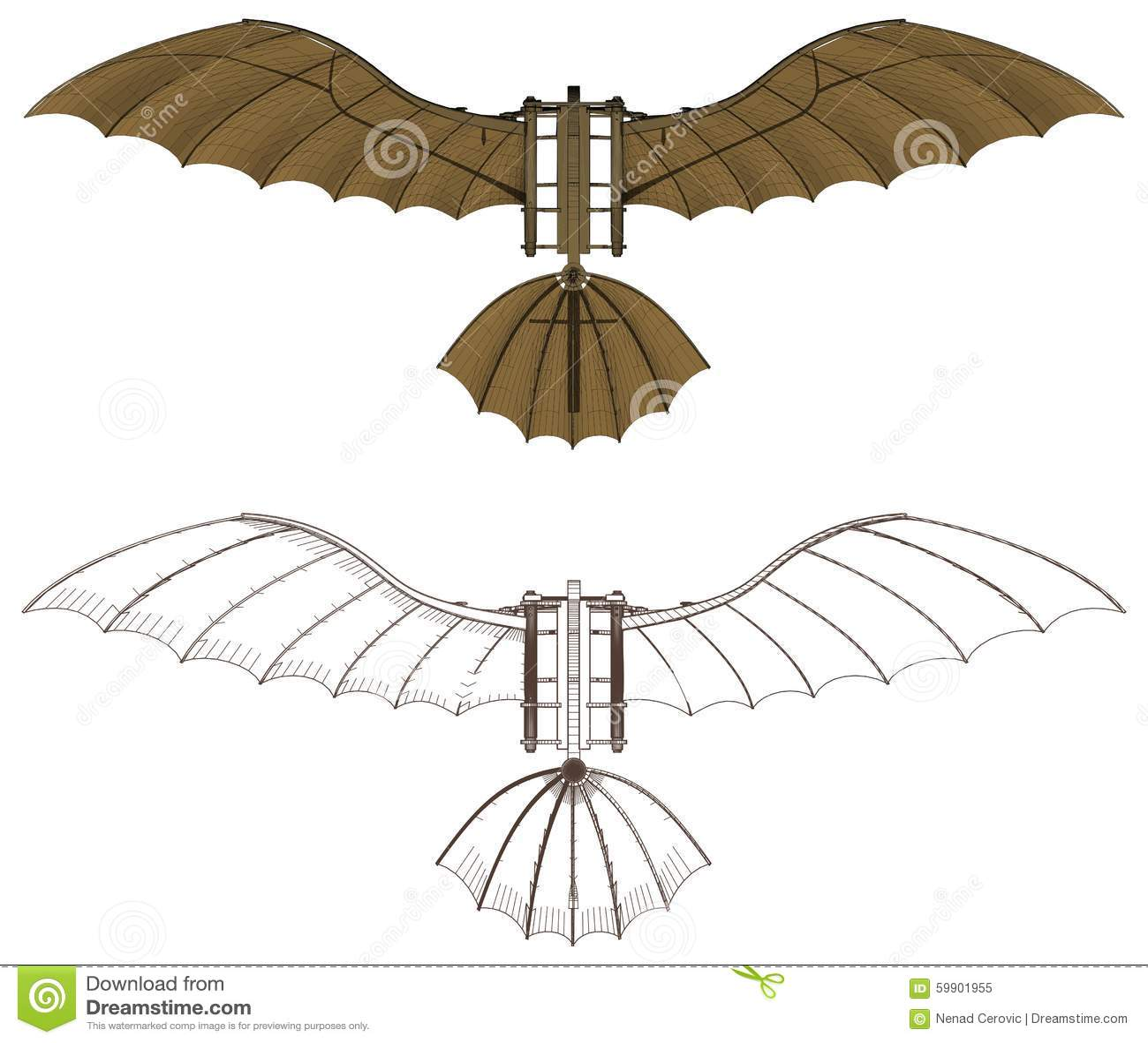 da vinci s flying machine