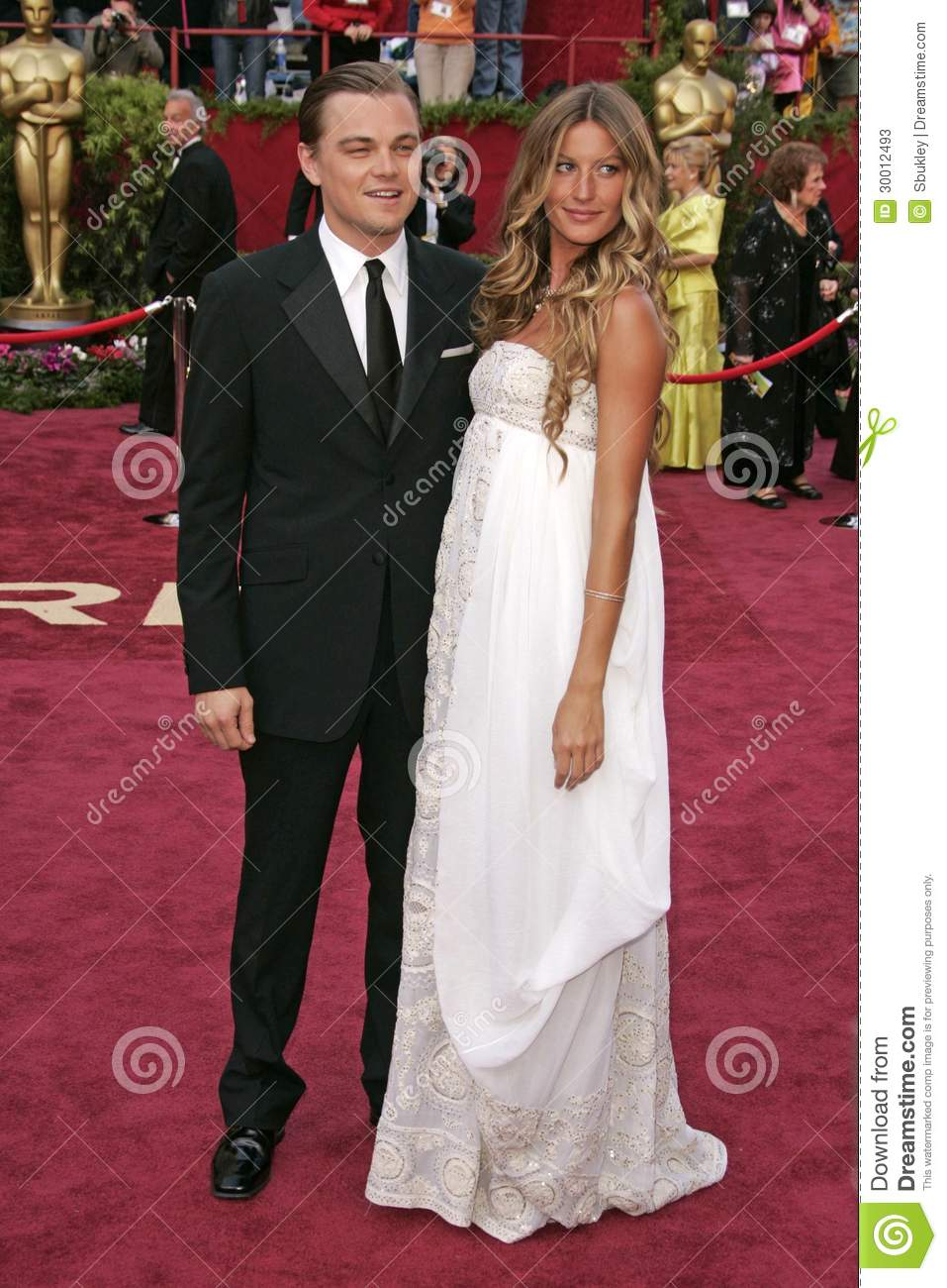 Leonardo DiCaprioGisele Bundchen Editorial Stock Photo