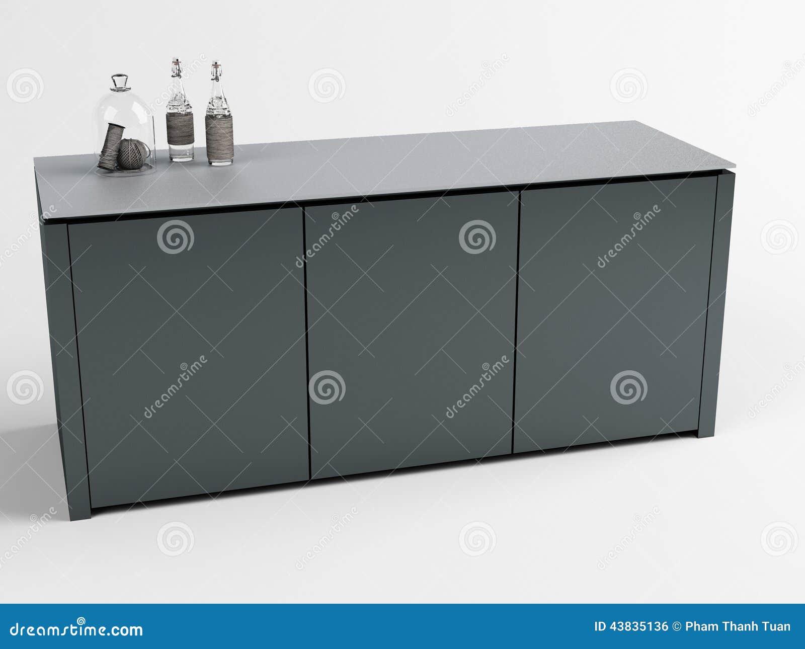LEONIDAS Cabinet 02 Stock Photo Image 43835136