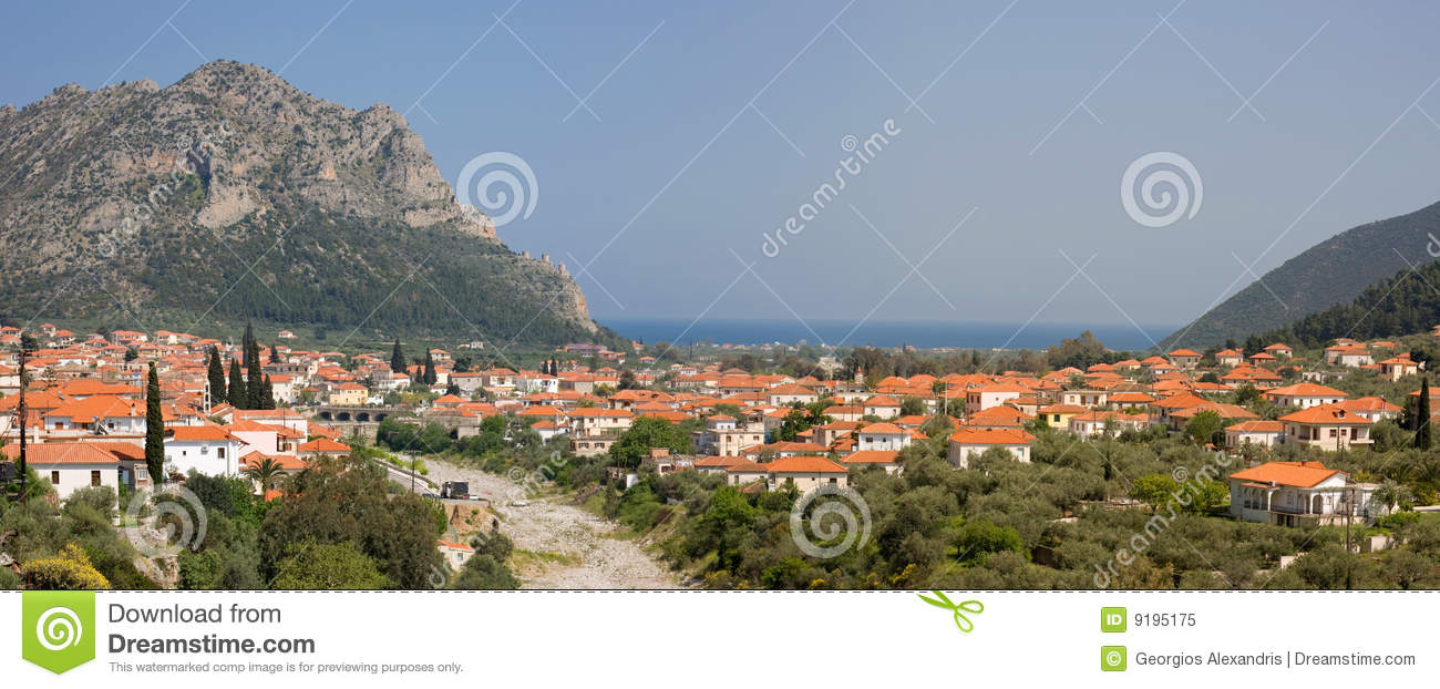 Leonidio Town, Greece