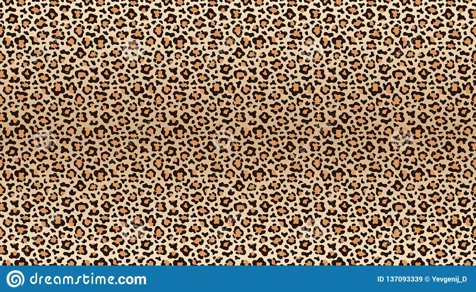Leopard-Druck-Muster Nahtloses Muster der Leopardhaut Moderne Gepardpelzbeschaffenheit