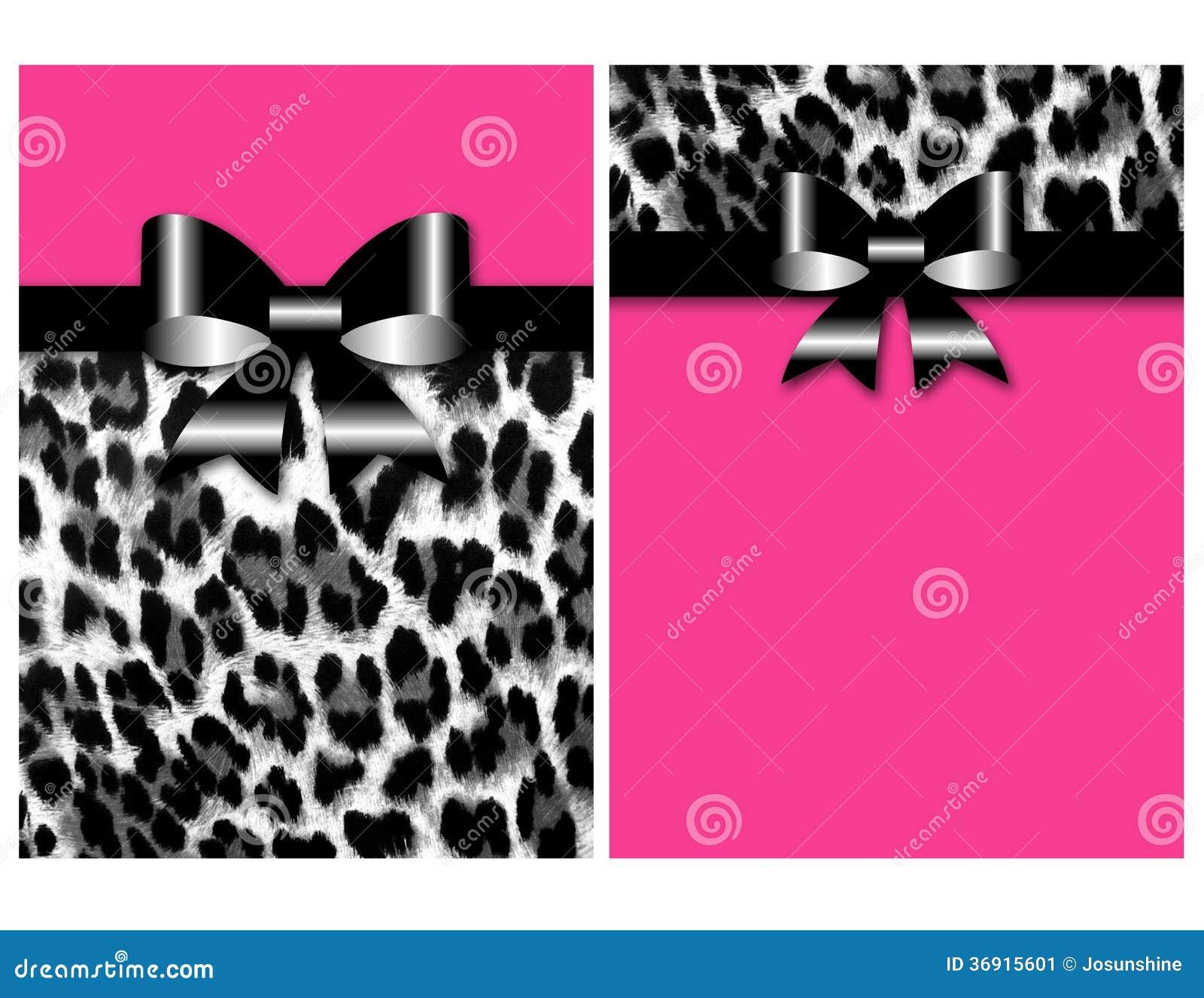 Leopard Invitation was perfect invitations design