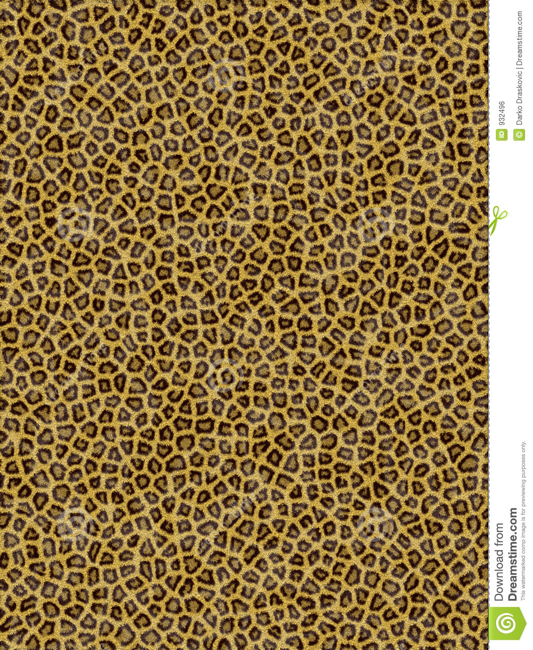 Leopard Pattern Royalty Free Stock Image Image 932496