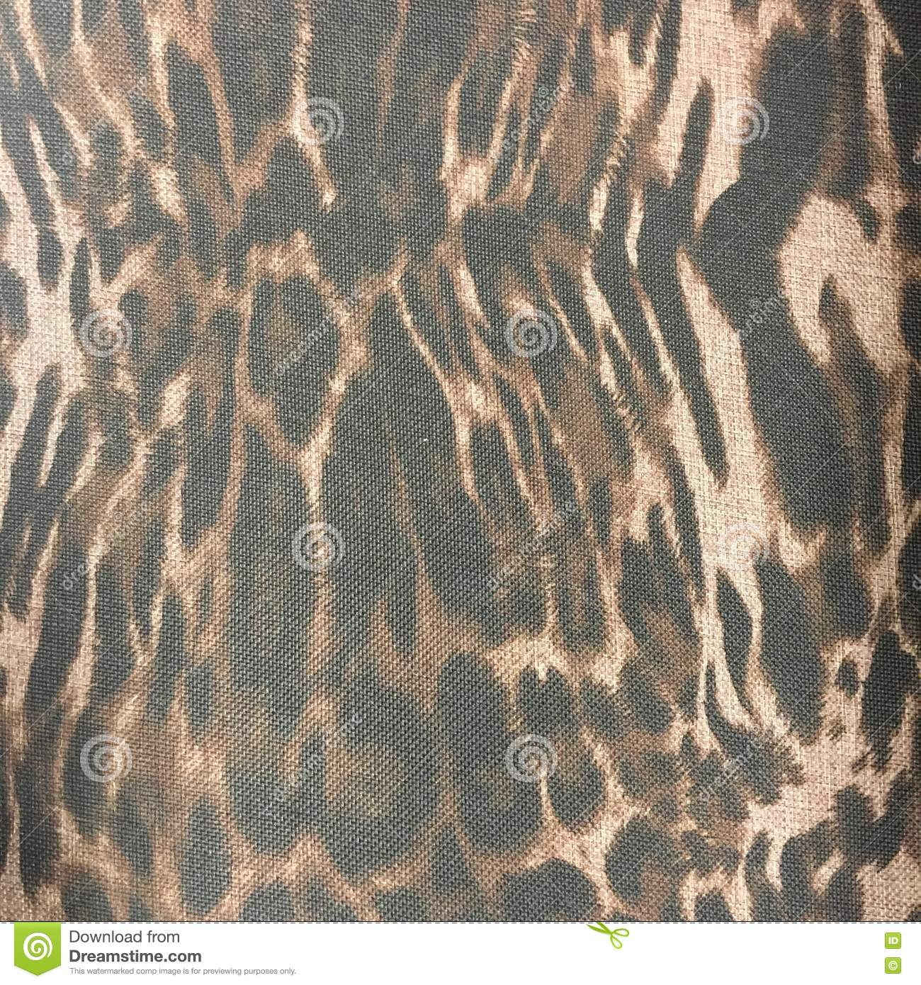 Leopard print material fabric pattern background