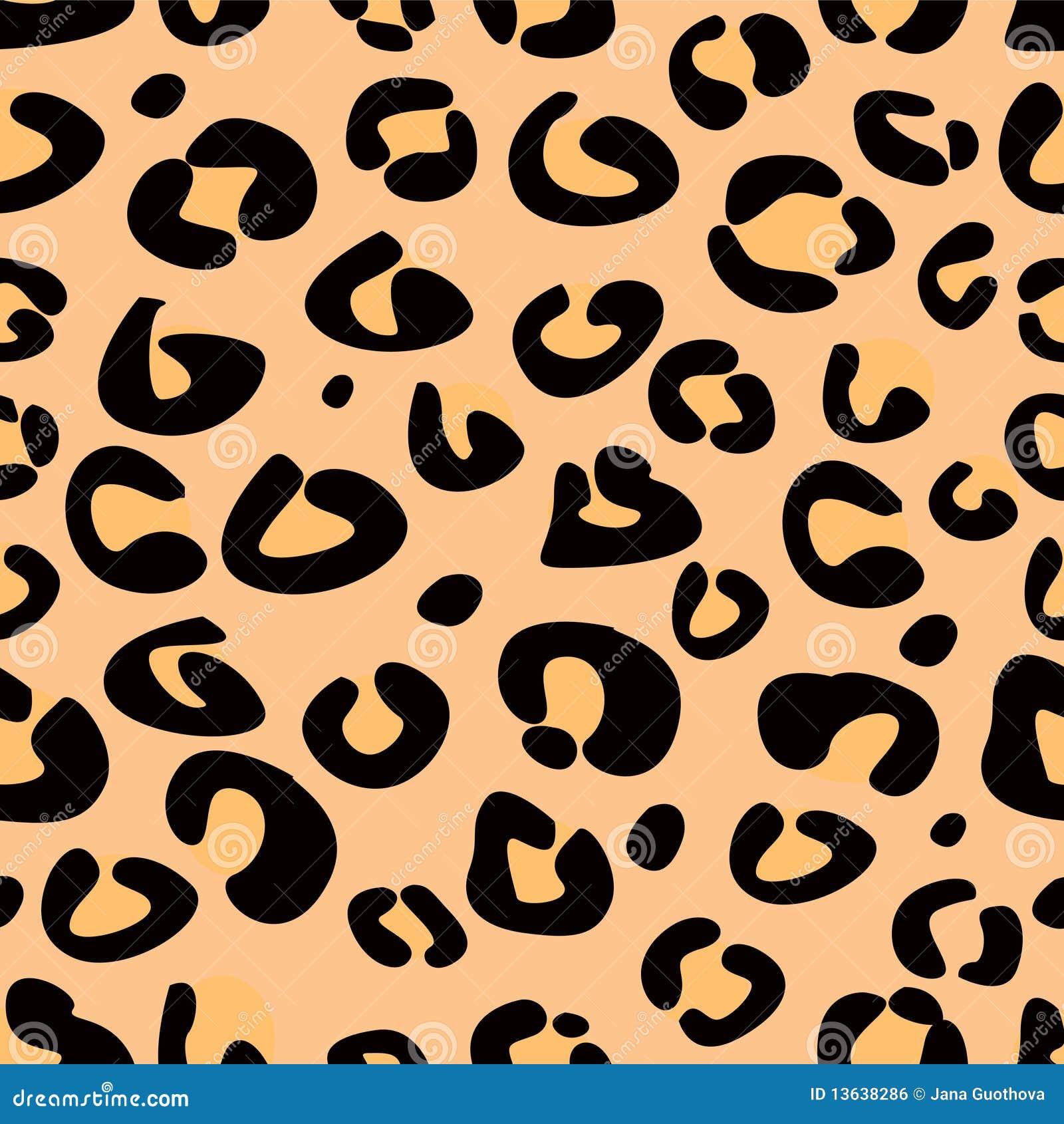 Leopard seamless texture