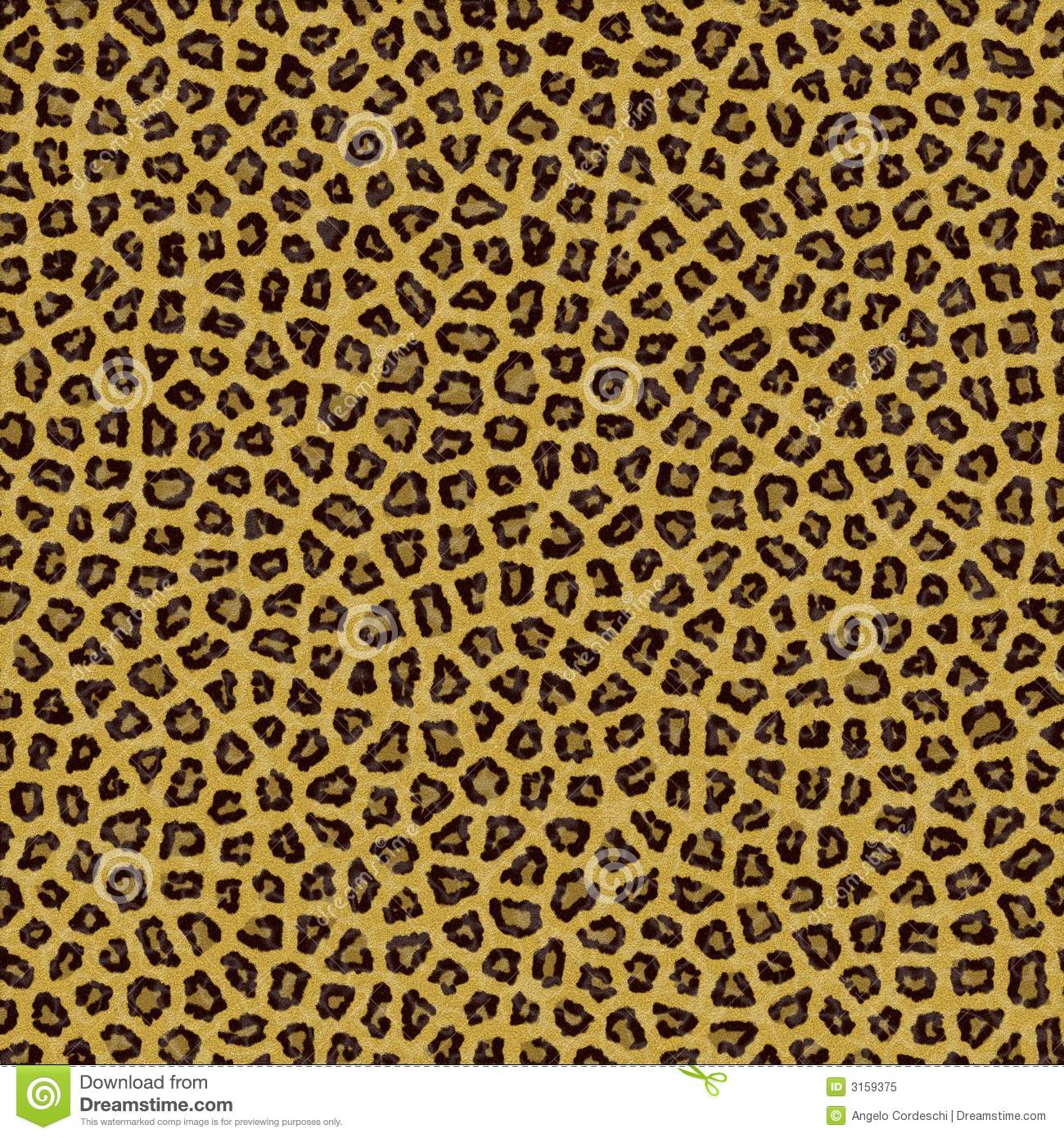Leopard Texture Background Fur Royalty Free Stock Photo