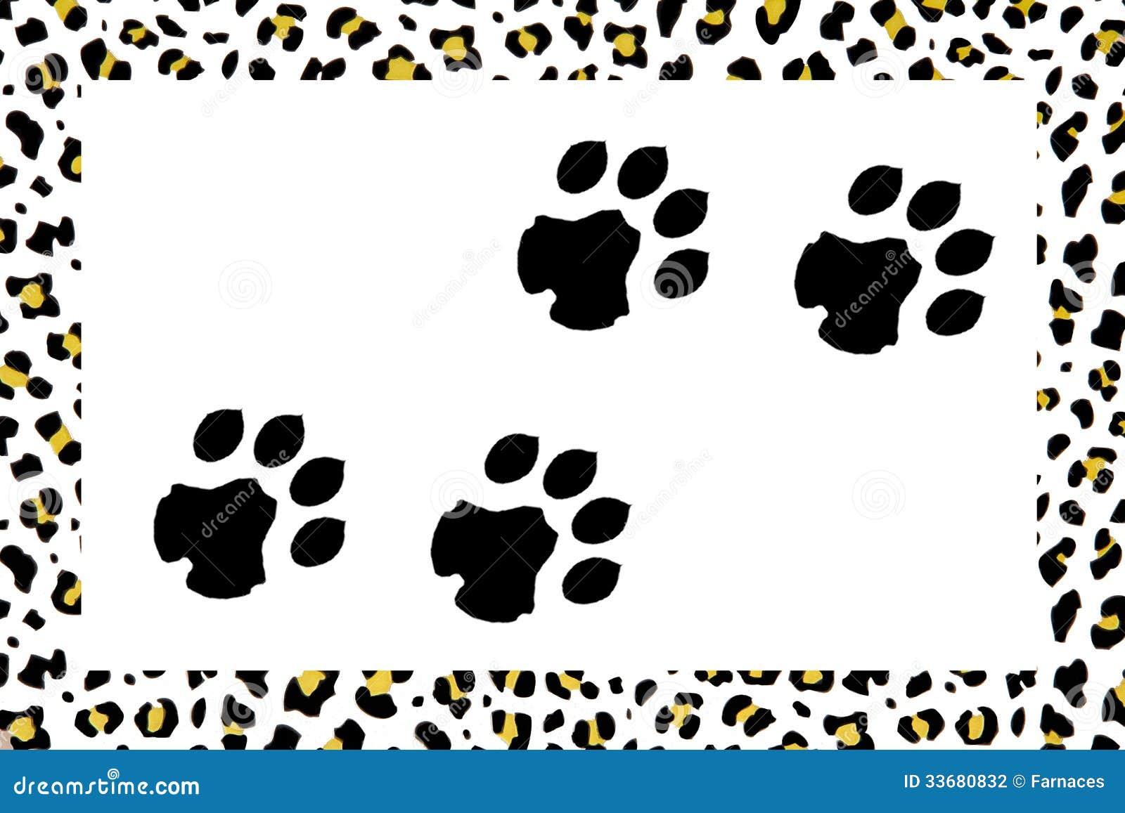 Leopardfotspår