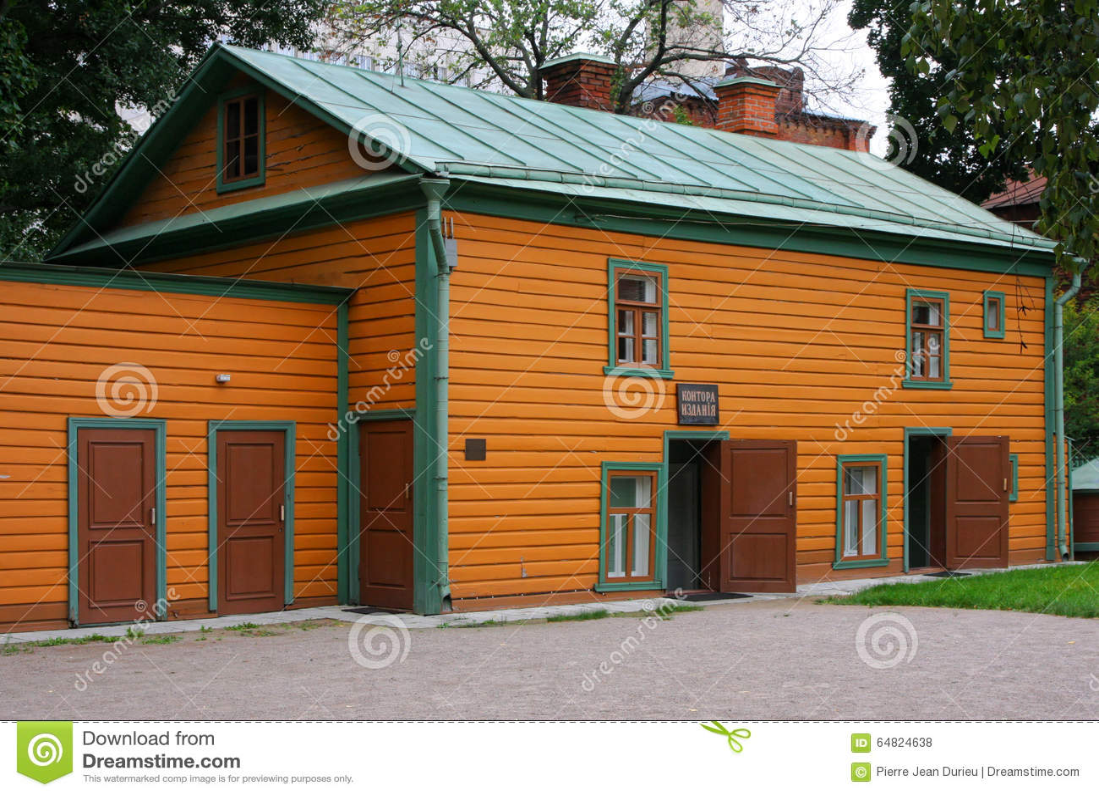 Leos Tolstoy gamla hus