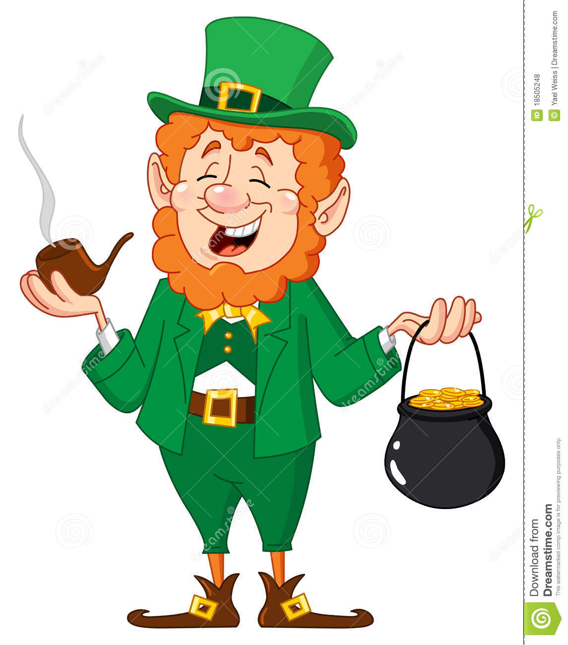 Leprechaun Royalty Free Stock Photos - Image: 18505248