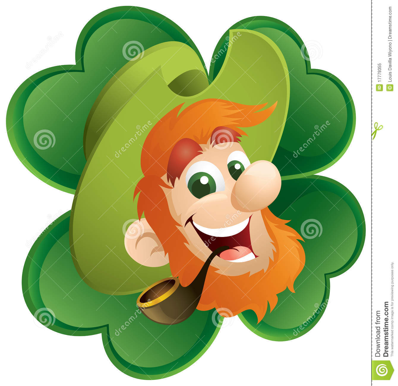 4 clovers and leprechaun in alabama pictures of the state