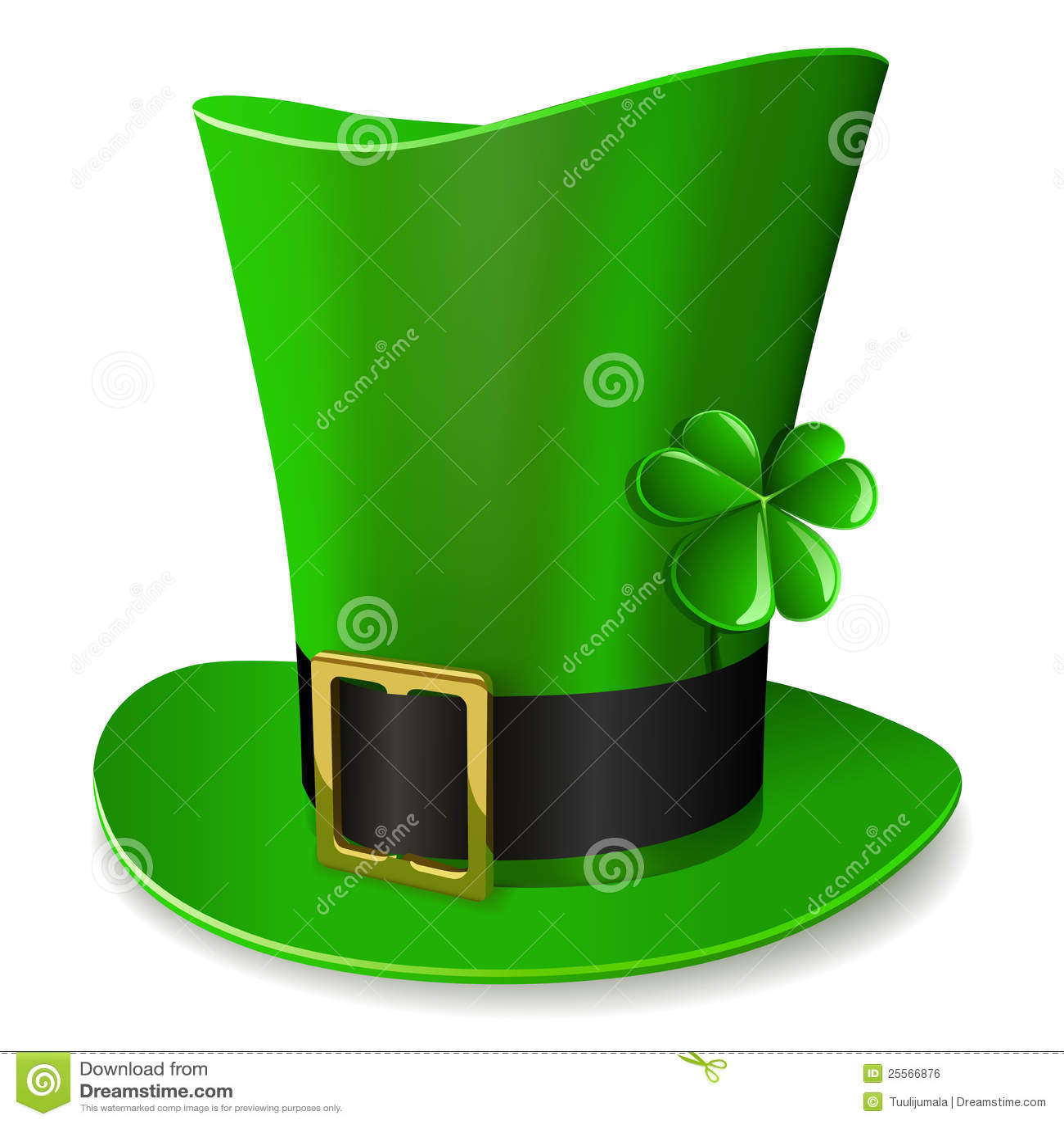 Leprechaun hat - St. Patrick's Day symbol.