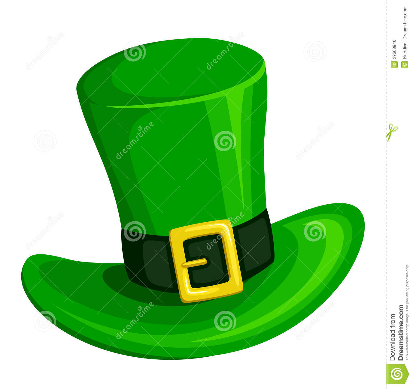 Leprechaun Hat. Vector Illustration. Stock Vector ...