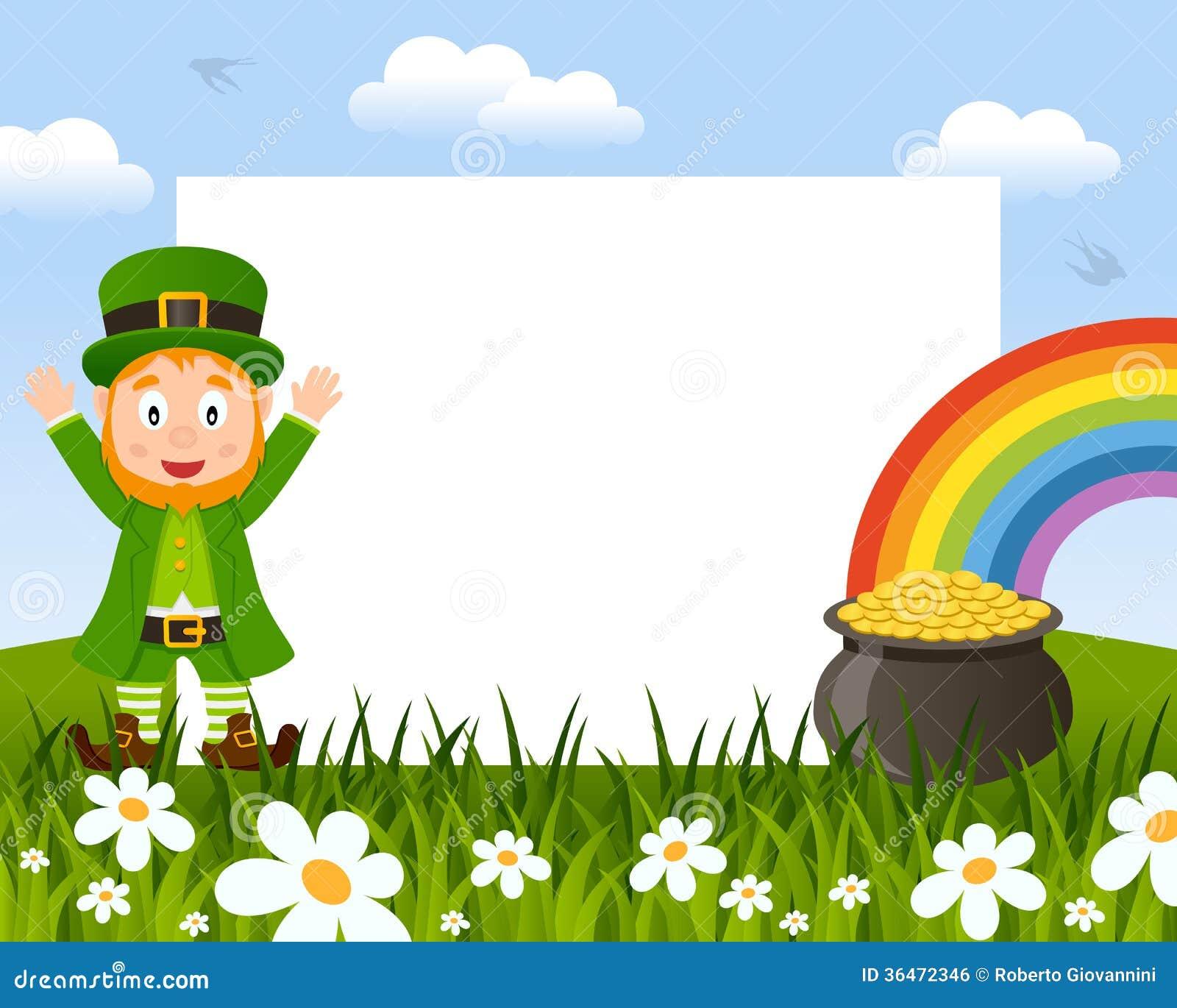 St Patricks Or Saint Patrick S Day Horizontal Photo Frame With A