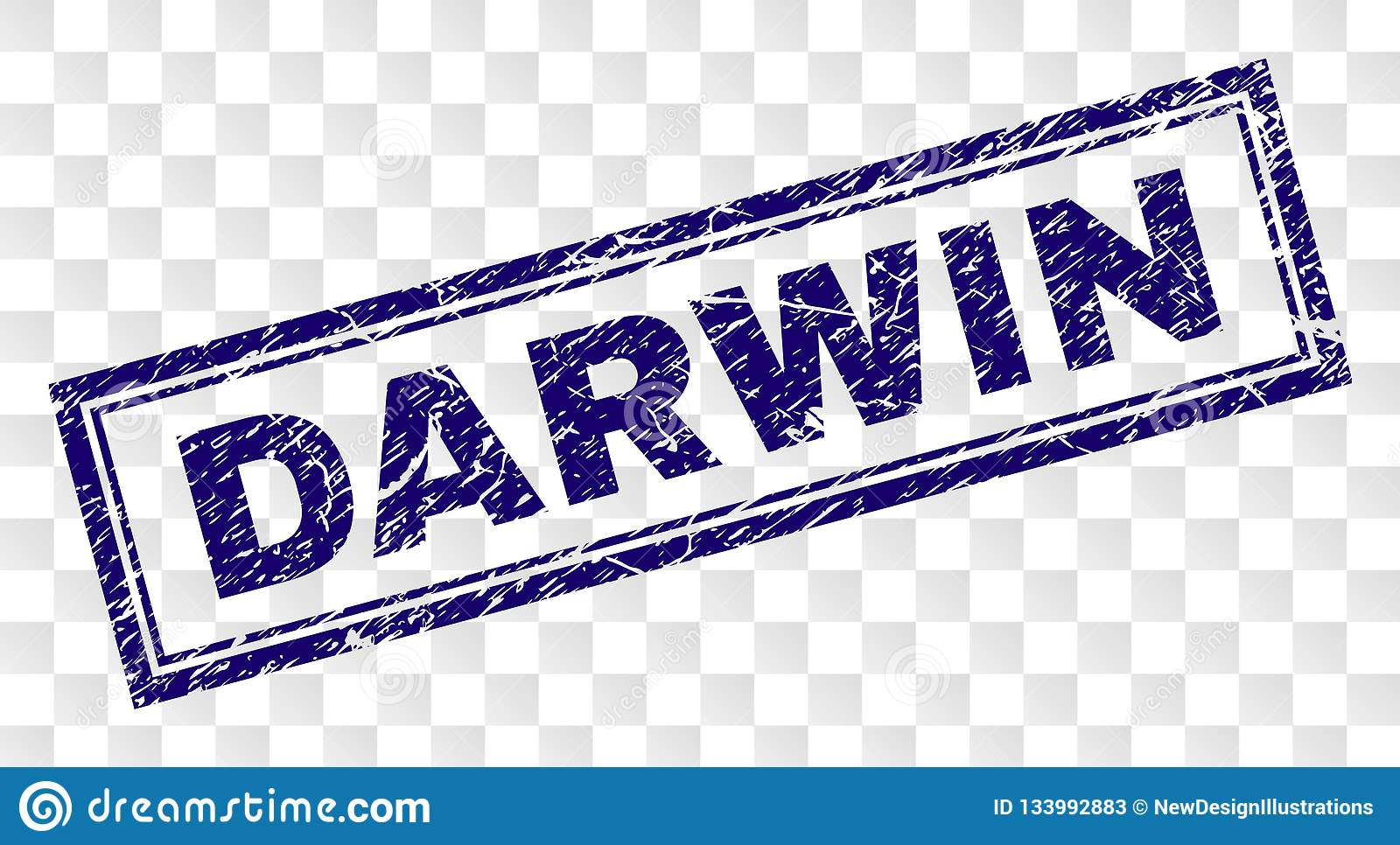 Lerciume DARWIN Rectangle Stamp