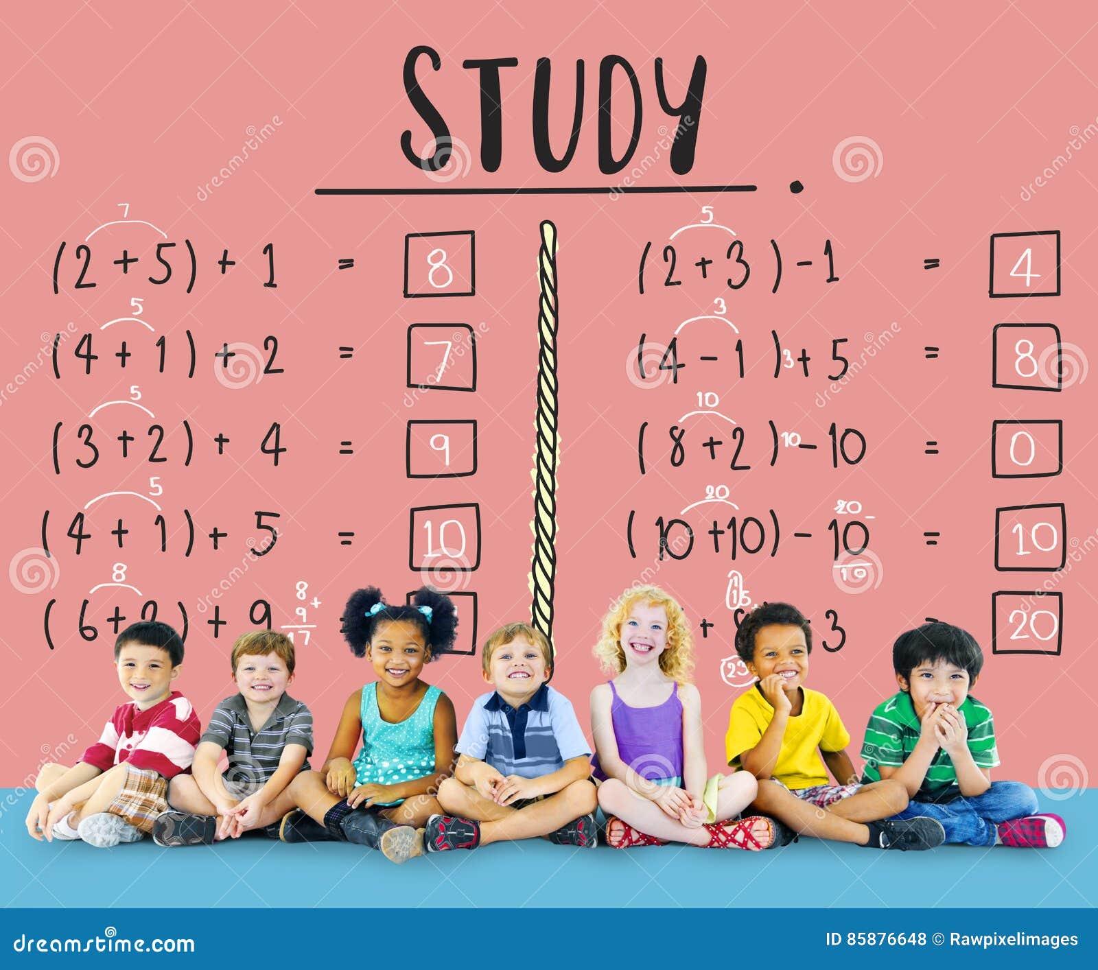 Lernen des Bildungs-Mathematik-Berechnungs-unterrichtenden Konzeptes