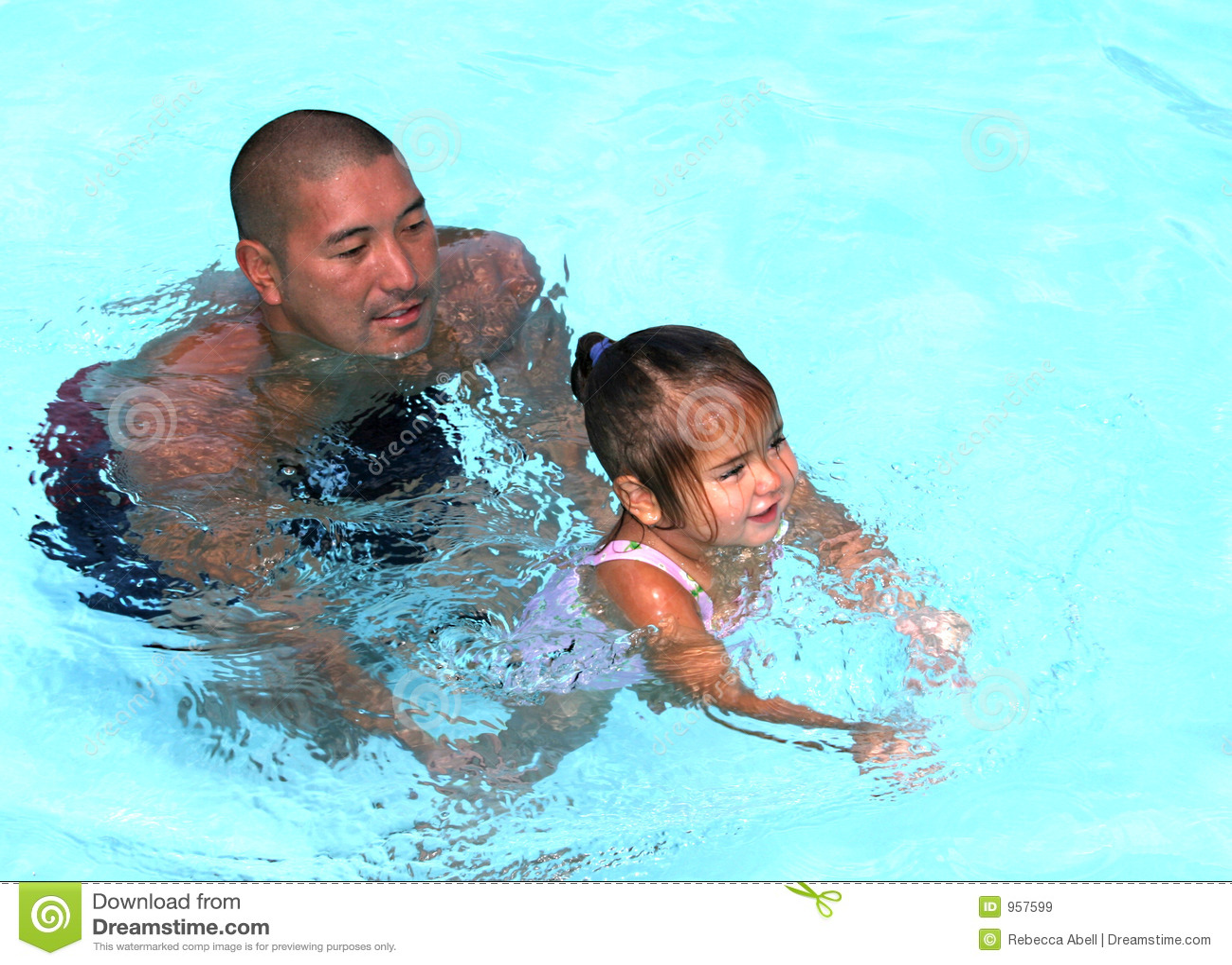 Lernen zu schwimmen