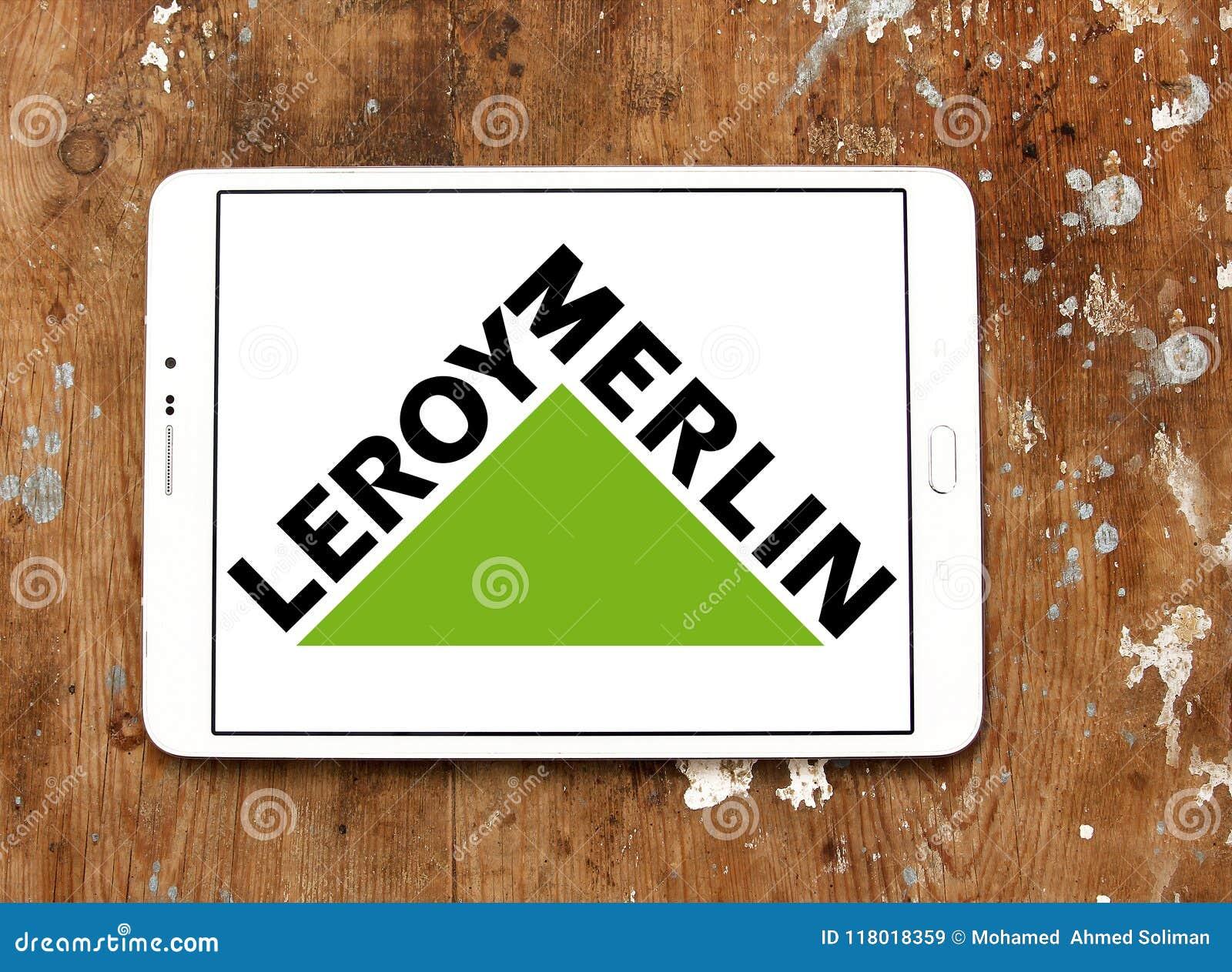 Leroy Merlin Retailer Logo Editorial Stock Image Image Of