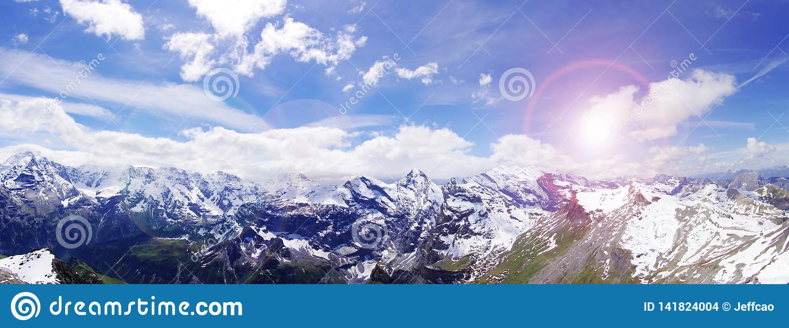 Les Alpes magnifiques