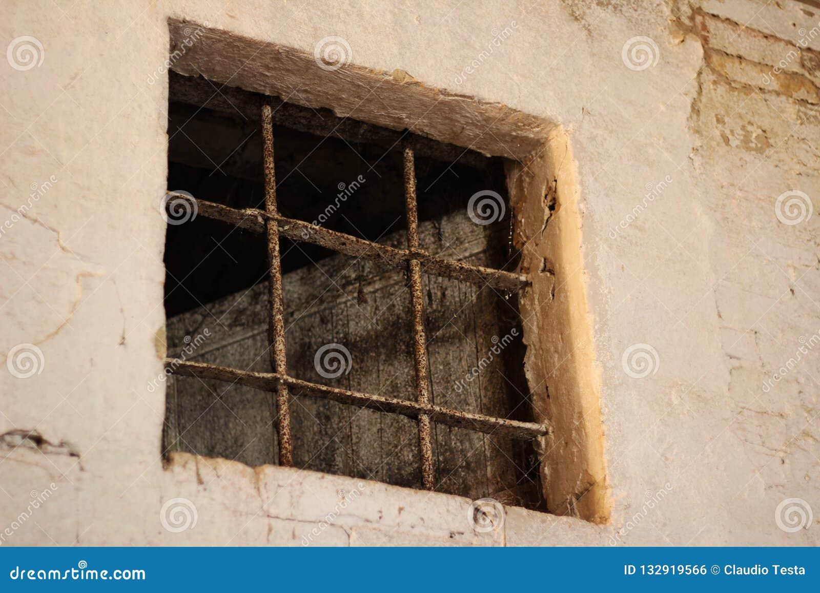 Les barres de la vieille prison