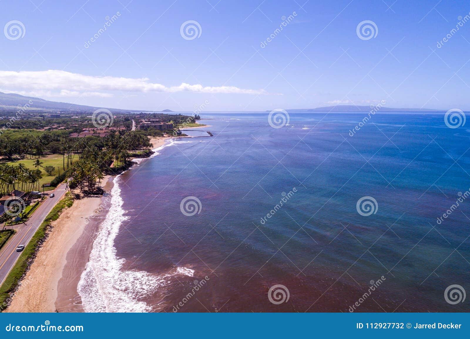 Les beaux rivages de Maui Hawaï
