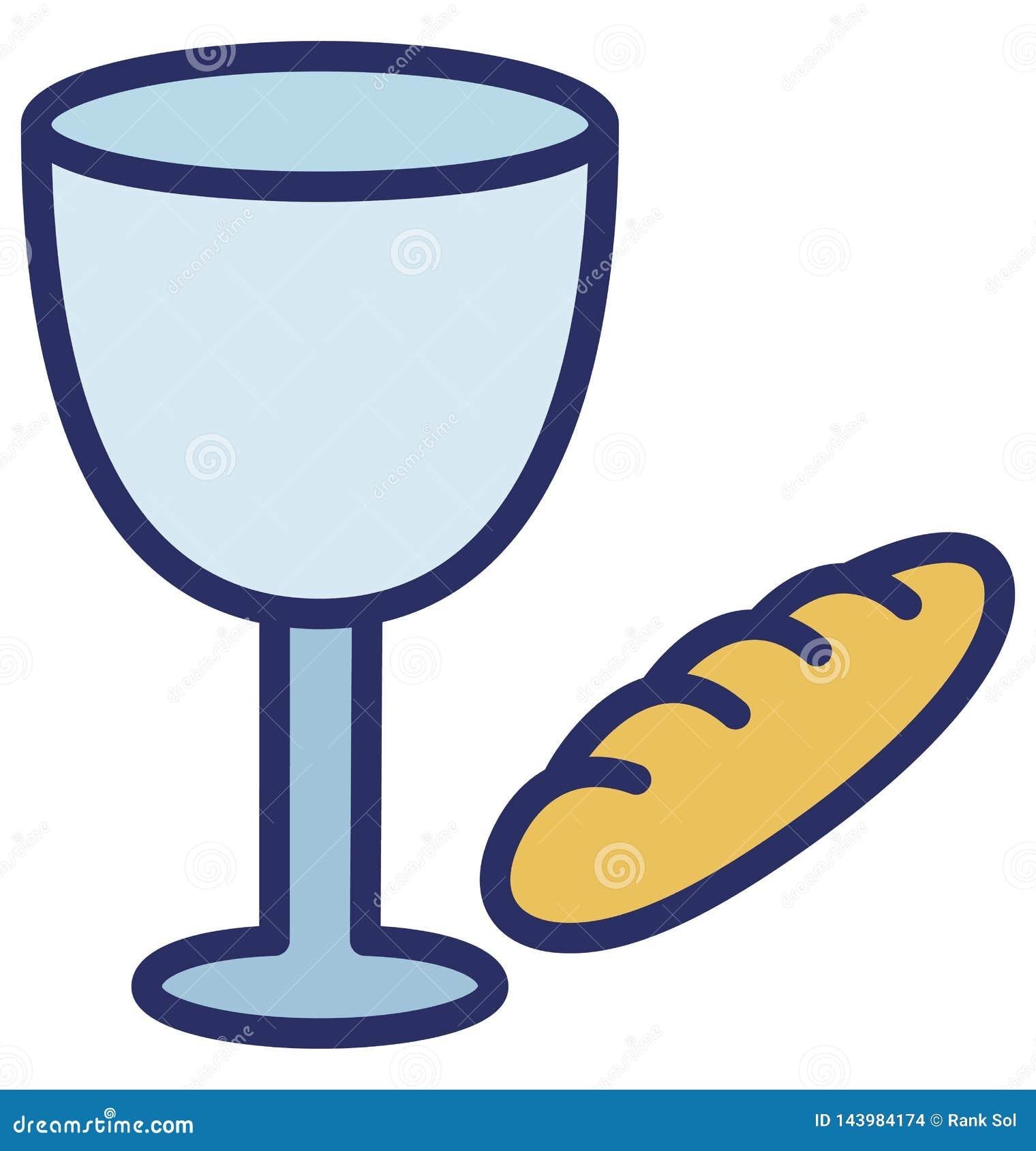 Les boissons, boisson de Pâques ont isolé l icône de vecteur qui peut facilement modifier ou éditer