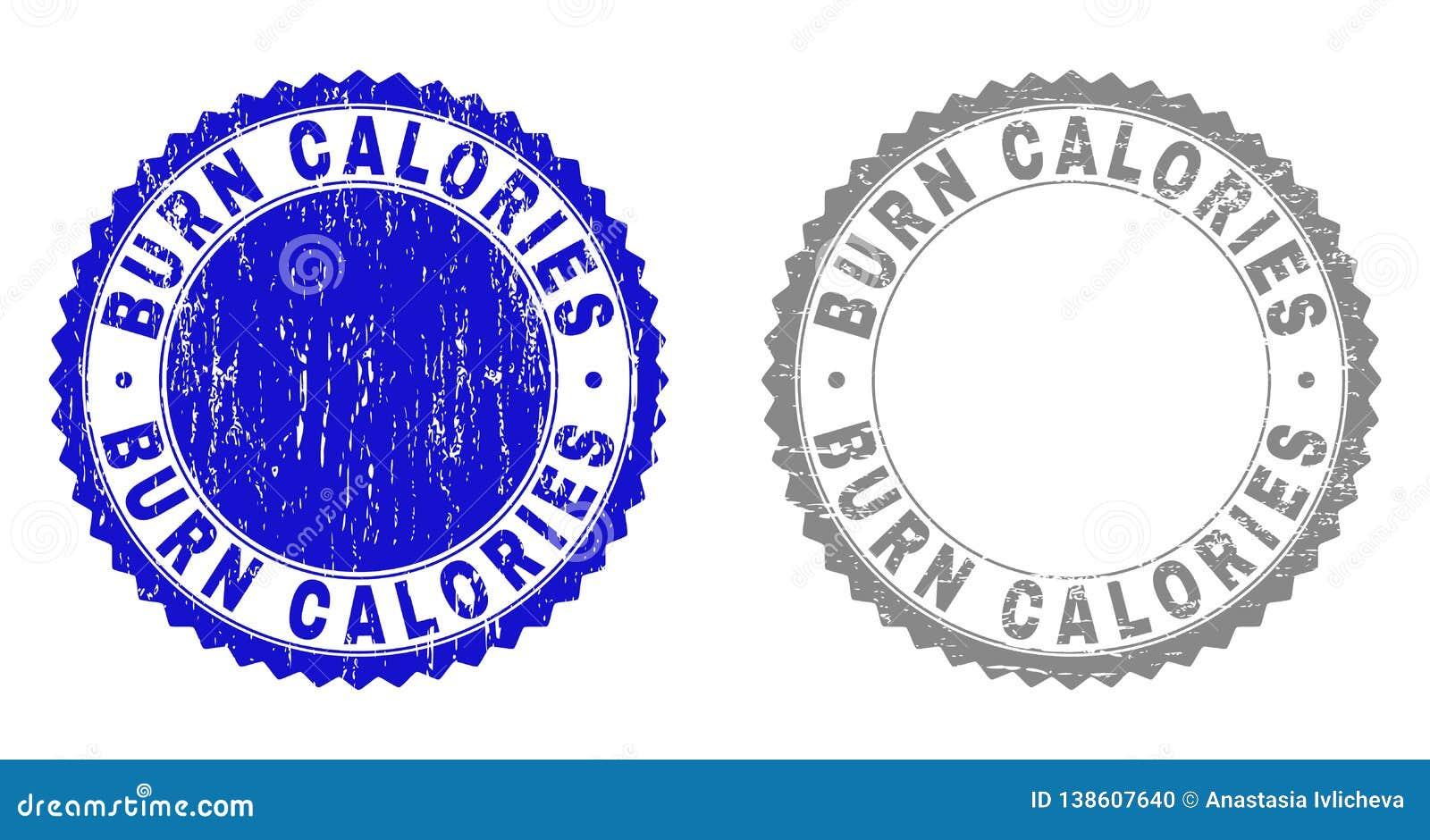 Les CALORIES de BRÛLURE grunges ont donné à des joints une consistance rugueuse de timbre