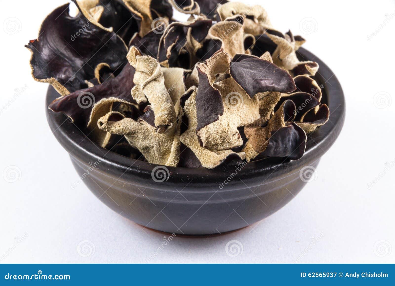 Les Champignons Noirs Chinois Secs, Polytricha D ...
