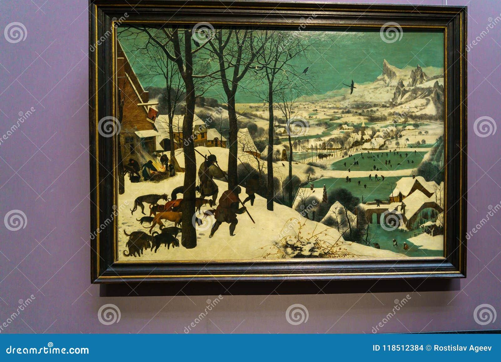 Les chasseurs dans la neige 1565 par Pieter Brueghel l aîné en K